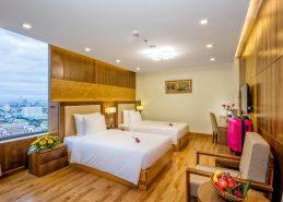 deluxe twin room hotel da nang