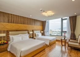 premier deluxe triple room best da nang accommodation