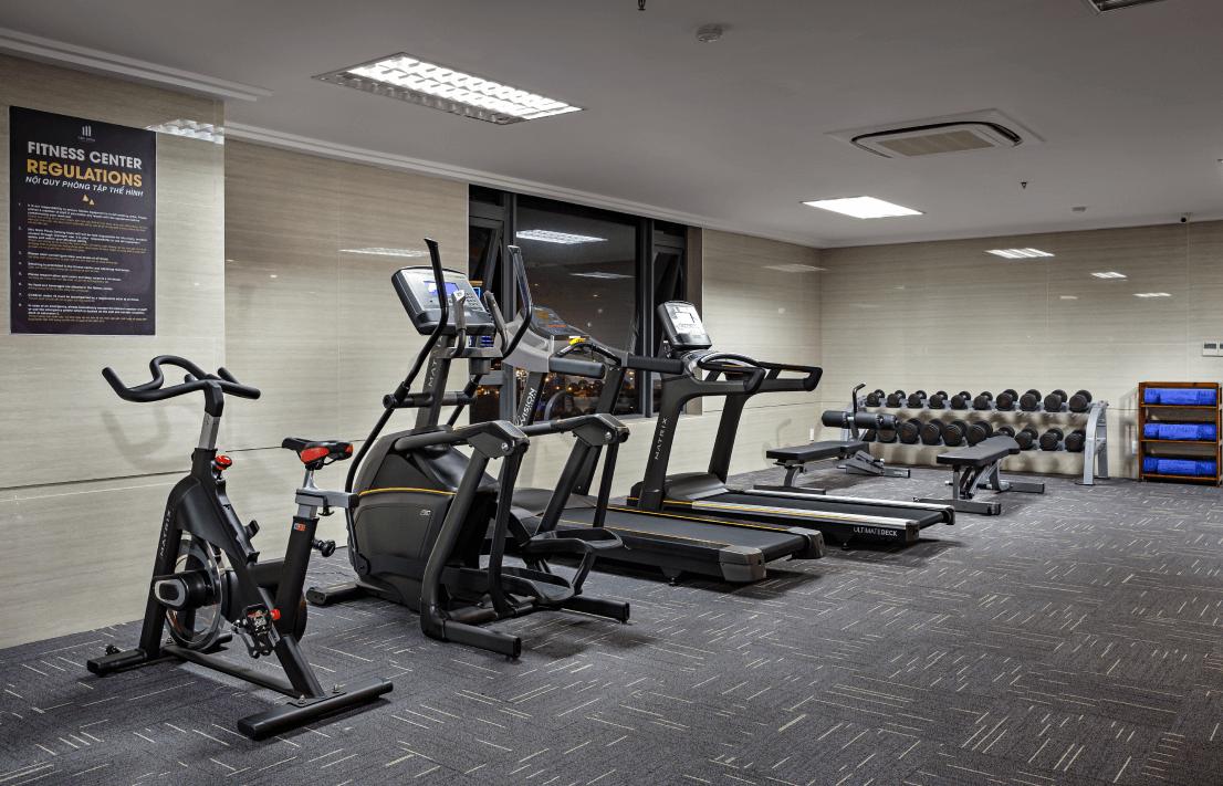 da nang hotel near beach fitness center