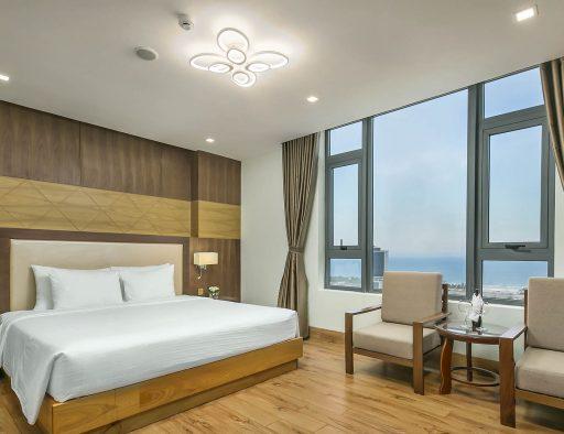 da nang center hotel double bed