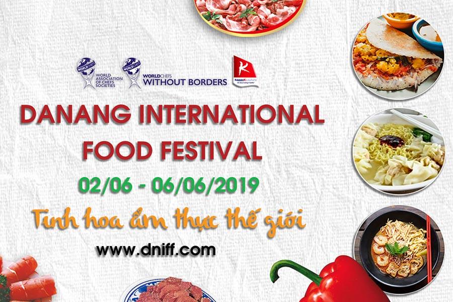ĐẦU BẾP MỸ ĐẠI DIỆN CHO NHƯ MINH PLAZA THAM GIA LỄ HỘI ẨM THỰC QUỐC TẾ TẠI ĐÀ NẴNG 2019 – DANANG INTERNATIONAL FOOD FESTIVAL