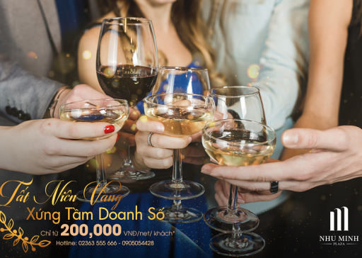 ENJOY THE MOST FASCINATING GALA DINNERS AT NHU MINH PLAZA DANANG HOTEL, ONLY 200,000 VND / GUEST