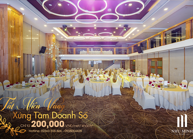 ENJOY THE MOST FASCINATING GALA DINNERS AT NHU MINH PLAZA DANANG HOTEL, ONLY 200,000 VND / GUEST!